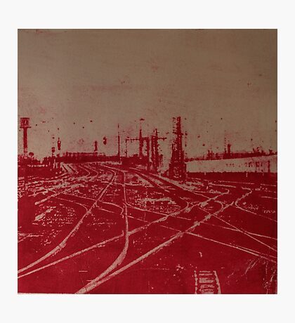 Tracks 1 Photographic Print