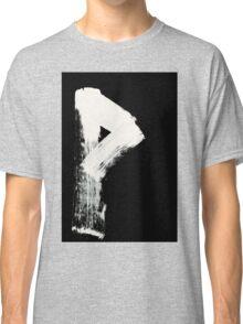 Runes - Elder Futhark - 0008 - Wunjo - Inverted Classic T-Shirt