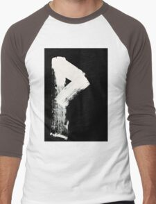Runes - Elder Futhark - 0008 - Wunjo - Inverted Men's Baseball ¾ T-Shirt