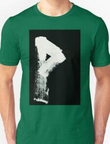 Runes - Elder Futhark - 0008 - Wunjo - Inverted Unisex T-Shirt