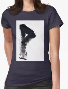 Runes - Elder Futhark - 0008 - Wunjo Womens Fitted T-Shirt