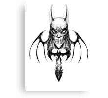 Gotham-Sumi Canvas Print