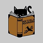 CAT AND BOOK by CatLover2