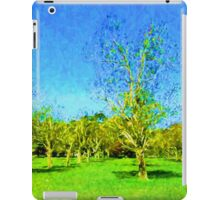 My Surreal Trees in a Row iPad Case/Skin