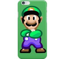 Luigi 16 Bit iPhone Case/Skin