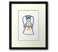 Angel Trumpet Framed Print
