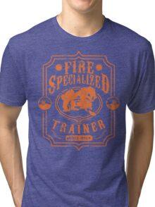 Fire Trainer (Arcanine) Tri-blend T-Shirt