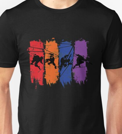 TEENAGE MUTANT NINJA TURTLES Unisex T-Shirt