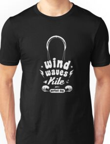 Kitesurf-kitesurfing shirt-Wind wave kite surfing Unisex T-Shirt