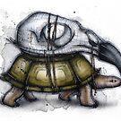 Tortoise Exoskeleton by Kaitlin Beckett