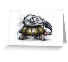 Tortoise Exoskeleton Greeting Card