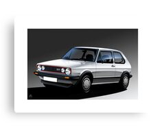 Poster artwork - Golf GTI Campaign Canvas Print