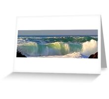 after you there is me....the sea Greeting Card