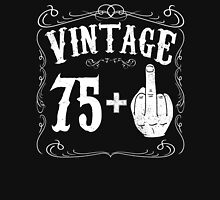 Vintage middle finger salute 76th birthday gift funny 76 birthday 1940 Unisex T-Shirt