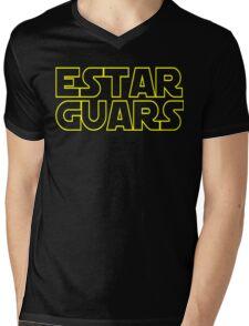 Estar Guars Mens V-Neck T-Shirt
