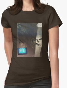 buried under the sidewalk Womens Fitted T-Shirt