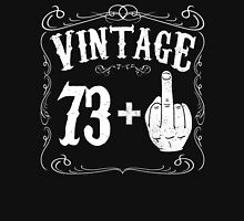 Vintage middle finger salute 74th birthday gift funny 74 birthday 1942 Unisex T-Shirt