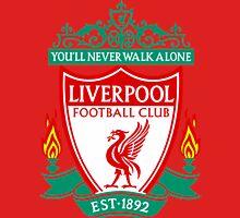 football club LIVERPOOL  - the Reds artwork logo Unisex T-Shirt