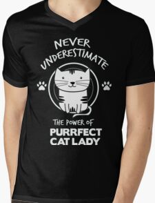 CAT DADDY Mens V-Neck T-Shirt