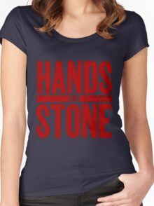 Hands Of Stone Women's Fitted Scoop T-Shirt