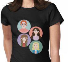 Stranger Gals Womens Fitted T-Shirt