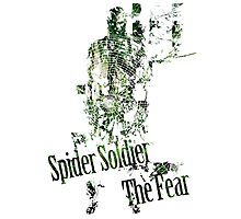 Spider Soldier - The Fear Photographic Print