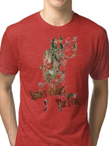 Spider Soldier - The Fear Tri-blend T-Shirt