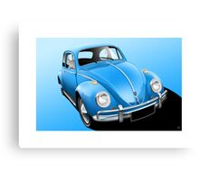 Poster artwork - Classic VW Beetle Canvas Print