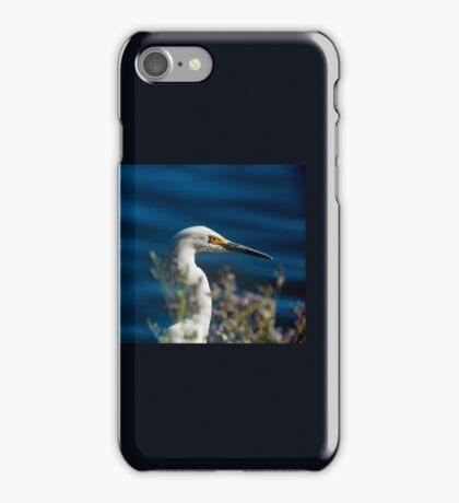 Snowy Egret 2.0 iPhone Case/Skin
