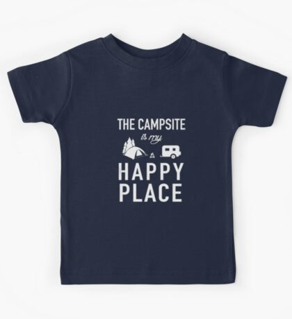 The Campsite Kids Tee