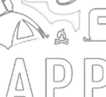 The Campsite Sticker