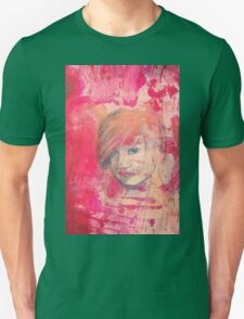 Jaynie - original portrait of a girl Unisex T-Shirt