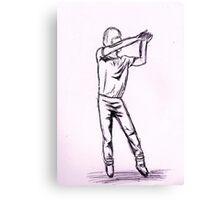 Napoleon Dynamite dance 3 Canvas Print