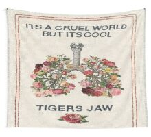 Tigers Jaw lyrics Wall Tapestry