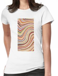 paul smith pattern Womens Fitted T-Shirt