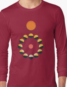 SUN+MOON+EARTH Long Sleeve T-Shirt