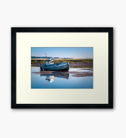 The Calm of the Morning Framed Print