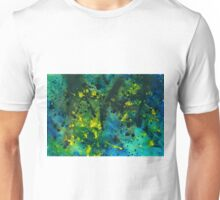 Blue Green Chaos - Abstract painting  Unisex T-Shirt
