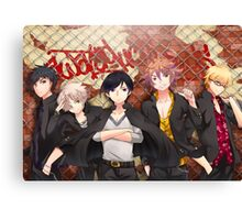 Touken Ranbu Awataguchi Pretty Boys Gangsta Illustration Canvas Print