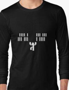 Lode Runner falling man Long Sleeve T-Shirt