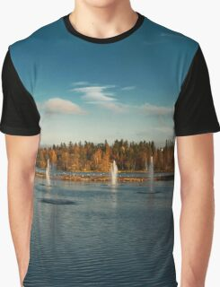 Oulu panorama Graphic T-Shirt