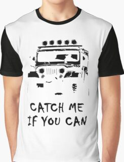 Off Road 4X4 Rover Jeep Hilux AWD 90 110 Cruiser Graphic T-Shirt