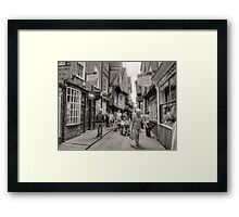 The Shambles, York, U.K. #2 Framed Print