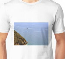 The sea and land from Vernazza. Unisex T-Shirt