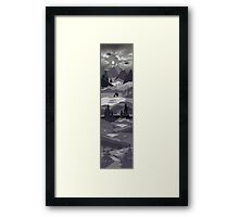 Up The Mountains Framed Print