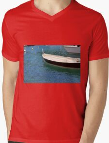 Boats in the water Mens V-Neck T-Shirt