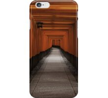 Fushimi Inari Path iPhone Case/Skin