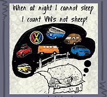 Counting VW';s by Sharon Poulton