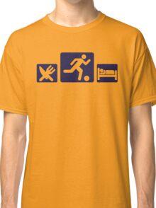 Eat, play, sleep - Football, Soccer Classic T-Shirt