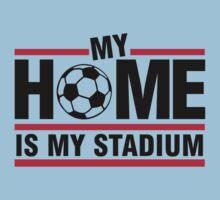 My home is my stadium One Piece - Short Sleeve